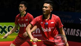 Indonesia's Fajar Alfian and Muhammad Rian Ardianto