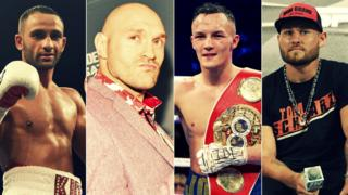 Kid Galahad, Tyson Fury, Josh Warrington, Tom Schwarz