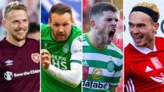 Hearts, Hibs, Celtic & Aberdeen