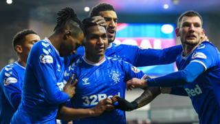 Rangers v Hearts