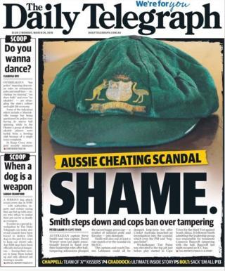 The Daily Telegraph in Australia