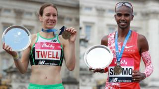 Steph Twell and Mo Farah split pic