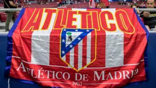 Atletico Madrid flag
