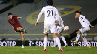 Jimenez scores