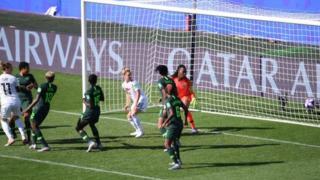 Alexandra Popp's goal against Nigeria