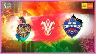 Kolkata Knight Riders v Delhi Capitals