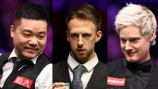 Ding Junhui, Judd Trump and Neil Robertson