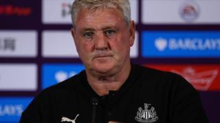 Newcastle boss Steve Bruce