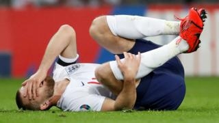Eric Dier injured in England's win over the Czech Republic