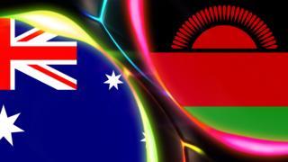 Australia and Malawi