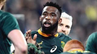 South Africa captain Siya Kolisi