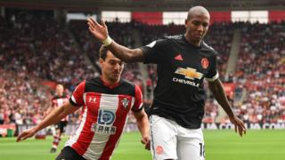 Cedric Soares and Ashley Young