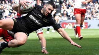 Jake Connor try