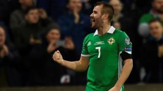 Northern Ireland's Niall McGinn