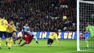 West Ham score