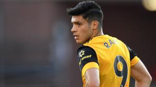 Wolves' Raul Jimenez
