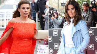 Coleen Roney and Rebekah Vardy