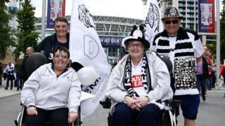 Derby County fans