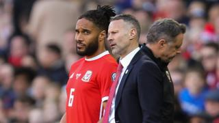 Ryan Giggs and Ashley Williams