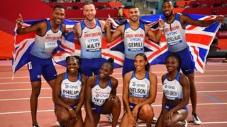 GB relay teams