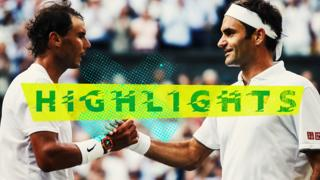 Highlights: Federer beats Nadal to reach 12th Wimbledon Final