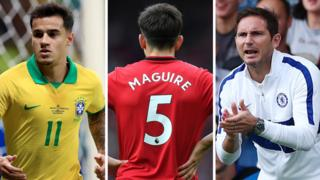 Coutinho, Maguire, Lampard