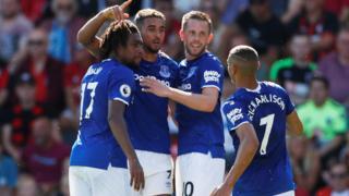 Everton's Dominic Calvert-Lewin