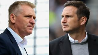 Dean Smith and Frank Lampard