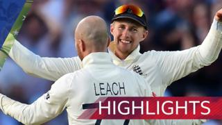 Jack Leach and Joe Root