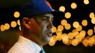 Carlos Beltran, who has stepped down as New York Mets