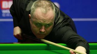 John Higgins at the Crucible
