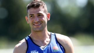 England's Jonny May