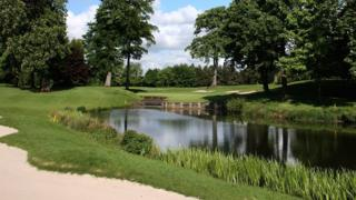 The 10th hole at the Belfry