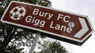 Bury FC sign