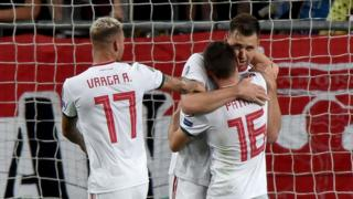 Hungary's midfielder Mate Patkai