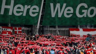 Denmark fans