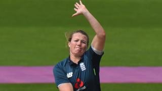 Anya Shrubsole of England