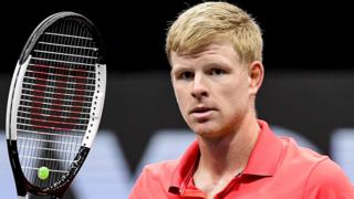 British number three Kyle Edmund