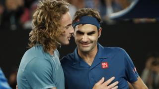 Tsitsipas and Federer