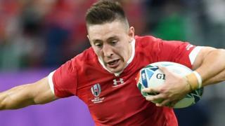 Wales' Josh Adams