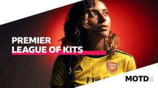 Chelcee Grimes' Premier League of Kits