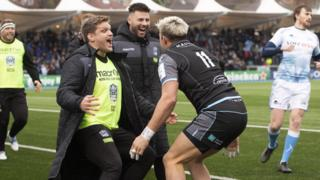 Glasgow Warriors defeat Sale Sharks