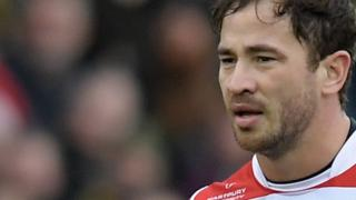Gloucester Rugby fly-half Danny Cipriani