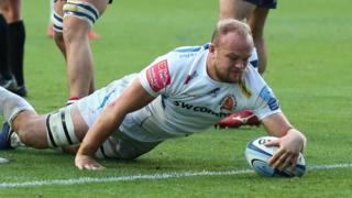 Exeter Chiefs' Tom Lawday