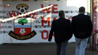 Southampton fans