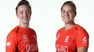 Kirstie Gordon and Katherine Brunt
