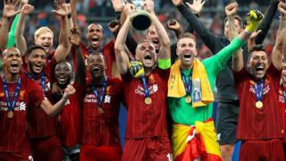 Liverpool lift the Super Cup