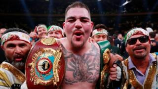 Andy Ruiz beat Anthony Joshua in the seventh round during their previous fight in New York