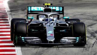 Mercedes' Valtteri Bottas