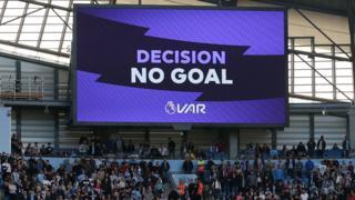 VAR rules no goal